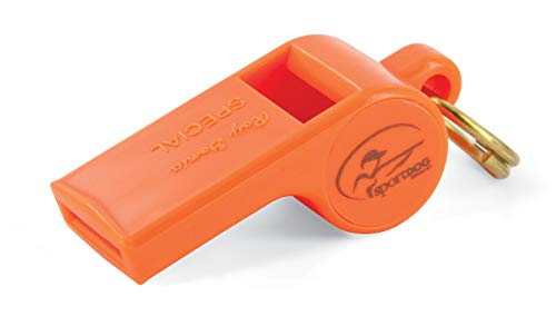 SportDOG Brand Roy Gonia Special Orange Whistle Without Pea