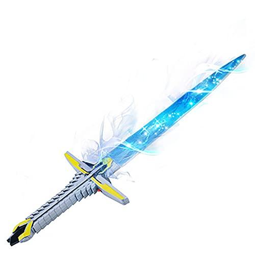 MOMAMOM Espadas Laser Juguete Luz Sabre láser Scream Brilla Intensamente Sonido Combate Alta Simulación Niños Brillante Regalo Fiesta Juego Star Wars B