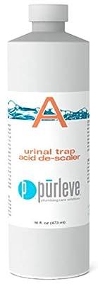 Purleve Part A: Urinal Trap Acid de-Scaler (16 OZ)
