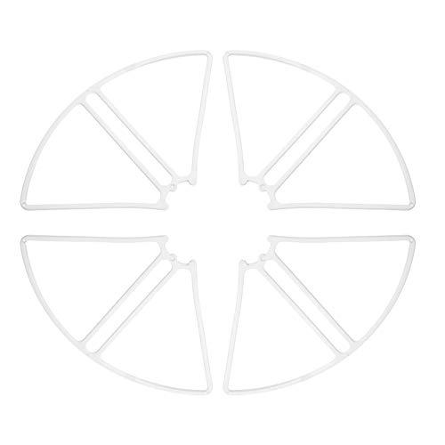 Entweg Eliche Drone S20W, Elica per Drone S20W A 2 Coppie E Set di 4 Anelli di Protezione per Sjr C S20W Potensic T25 Hs120D Quadcopter RC Drone