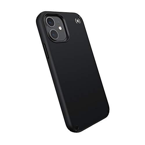 Speck Dünne Schutzhülle für iPhone 12 Stoßfeste Schutzhülle für Apple Smartphone Mobile Phone - Presidio Pro, 138486-D143