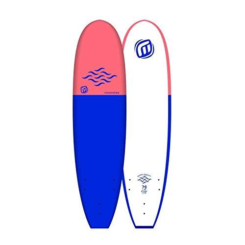 Madness tavola da surf schiuma 7' 0Soft EPS Ripple Blue, blu