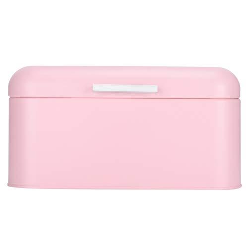 Organizador de pan, caja de almacenamiento de pan resistente a la presión, contenedor de pan de hierro fuerte e inodoro para panadería, oficina, restaurante, cocina casera