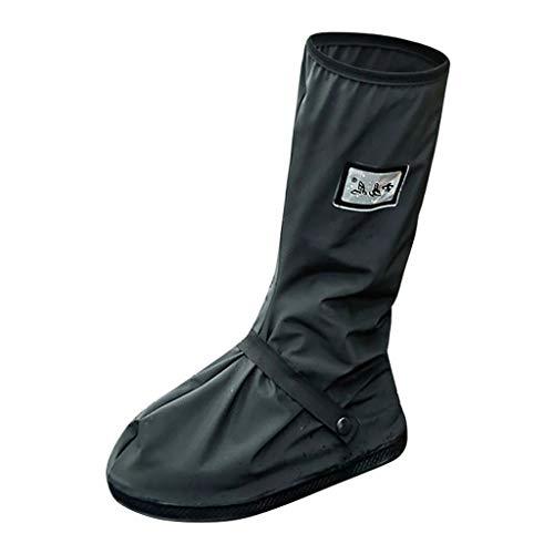Alwayswin Unisex Überschuhe Fahrrad, Herren Regenüberschuhe Wasserdicht Schuhe Outdoor rutschfeste Regenschuhe für Radfahren Bergsteigen auch bei Regen, Schnee oder Staub