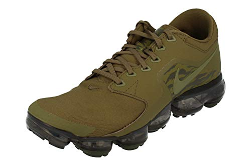 Nike Air Vapormax GS Running Trainers AR0016 Sneakers Chaussures (UK 6 US 6.5Y EU 39, Medium Olive Sequoia 200)