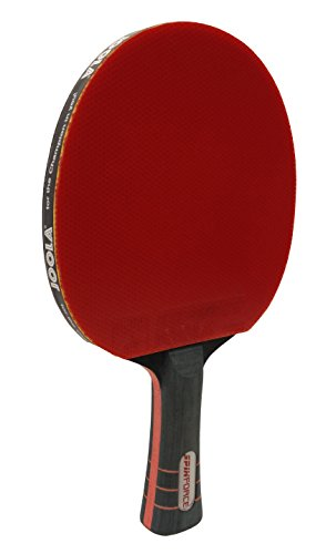 JOOLA Spinforce Professional Table Tennis Racket  Competition Grade Ping Pong Paddle with Flared Handle  ITTF Tournament Approved Preassembled Table Tennis Rubber and Blade 900