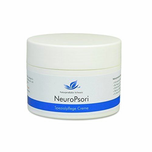 Naturprodukte Schwarz - NeuroPsori Spezialpflege Creme bei Schuppenflechte / Psoriasis und Neurodermitis