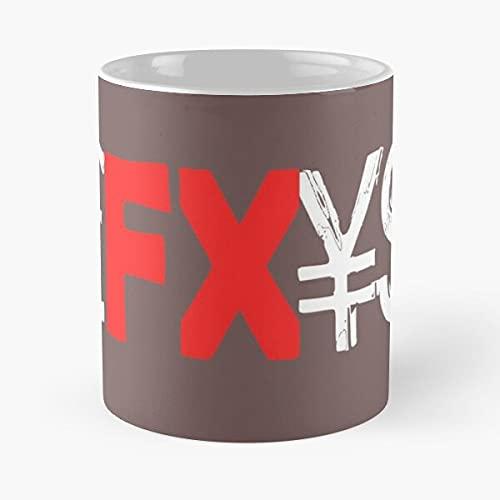 FX Forex Currencies – La tazza Tient La Main 11 Oz, 15 oz in marmo bianco stampato in ceramica, design alla moda Que je personalizzalise