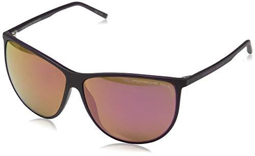 Porsche Design Sonnenbrille P8601 B 61 12 135 Oval Sonnenbrille 61, Violett