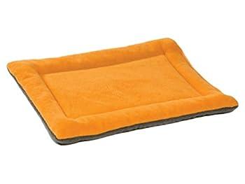YiJee Chaud Animaux Lit Coussin Doux Confortable Tapis Matelas pour Chien et Chat Orange XL