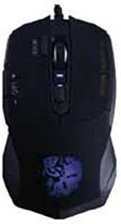 ProHT Gaming USB Mouse (07245), Wired Optical Mouse w/Ergonomic Design for Mac/PC/Laptop/Desktop, Adjustable DPI Switch 1000/1600/2000/2400DPI, Black
