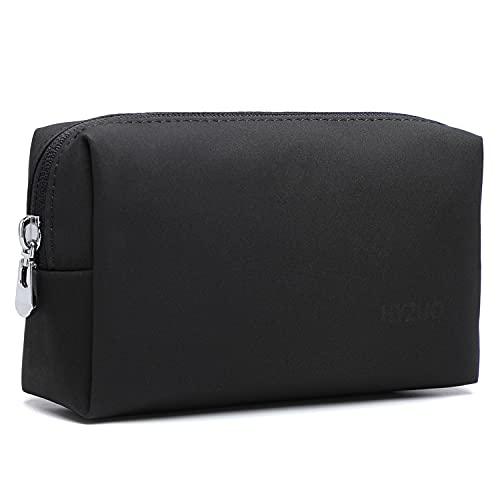 HYZUO Accesorio Portátil Bolsa de Almacenamiento para el Cargador del Ordenador Portátil Mouse Cables SSD HDD, Negro