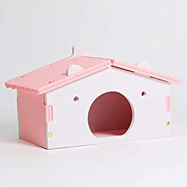 ACHICOO Cute Golden Hamster House Small Pets Rat Mouse Hut Pet Sleeping Nest for Pet Supplies