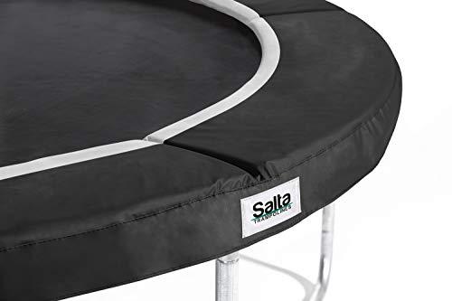 Salta trampoline 591P hoogwaardige beschermingsrand Pink 183cm 183cm zwart