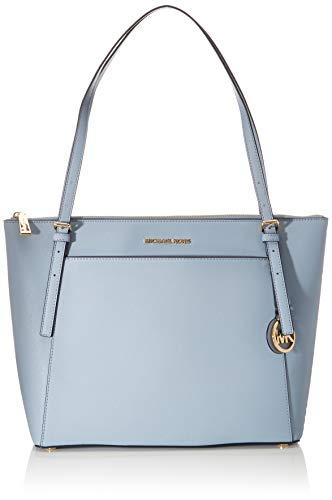 Michael Kors Voyager, LG EW TZ TOTE para Mujer, Azul claro, Large