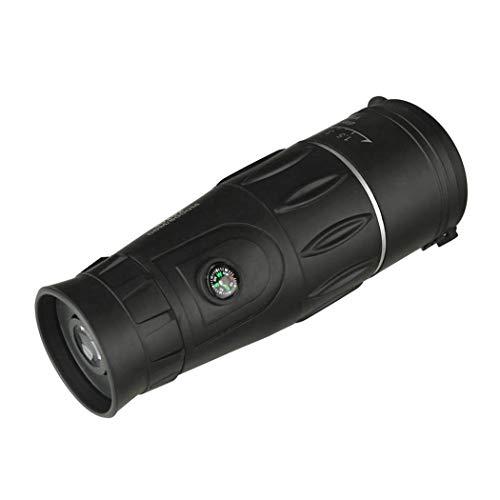 Prismáticos telescopio monocular, zoom monocular, alta densidad baja para ver, caza, camping, senderismo, al aire libre 30 x 52