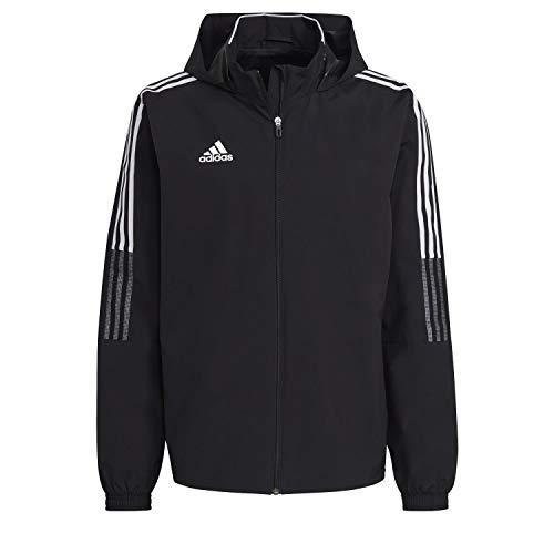 adidas GH4466 TIRO21 AW JKT Jacket Mens Black L