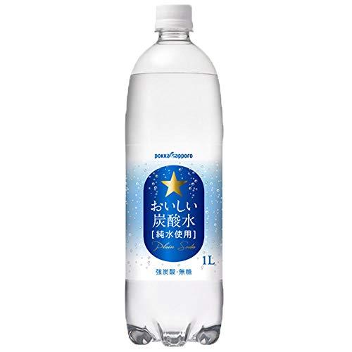 おいしい炭酸水 1L×12本 PET