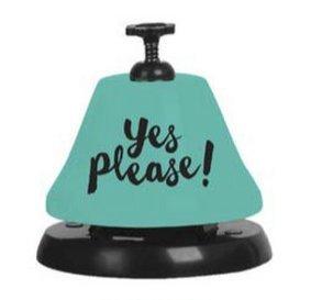 Slant 657284822257 Bartop Bell F172044 Yes Please, Clear 10-04368-001
