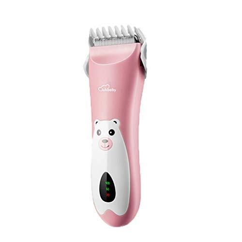 Hair clipper LHY Mute Hair Shaver Roze/Groen Oplaadbaar Huishoudelijk Draagbaar