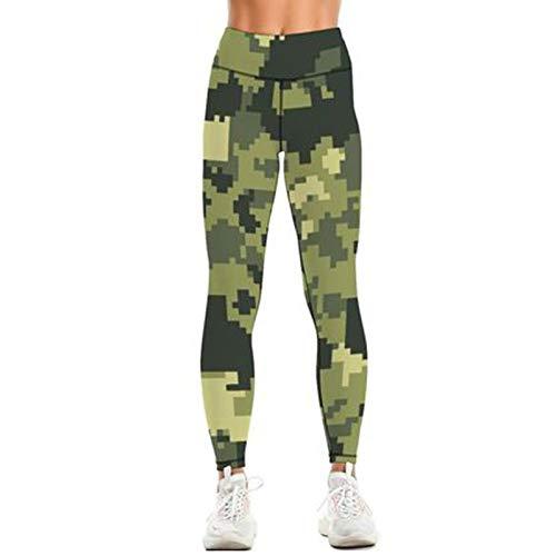 Scrunch Butt Lifting Booty Leggings para mujer, opacos, push up, deportivos, anticelulitis, con funda para teléfono móvil, cintura alta, deporte, yoga, push up, pantalones de fitness amarillo S