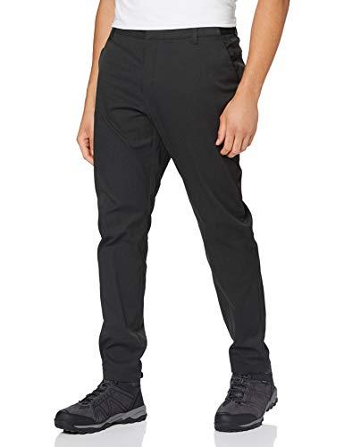 Jack Wolfskin Herren JWP WINTER PANTS M elastische Softshellhose, Black, L