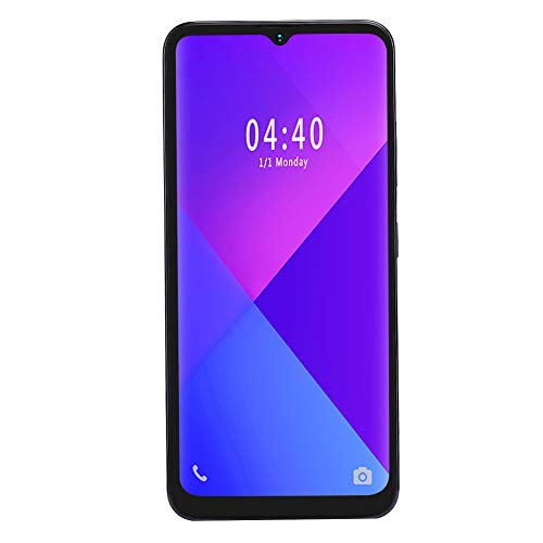 6.7' 2+16G Smartphone with 128G TF Card, Fingerprint Face Unlock 6.7-Inch Water Drop Screen Dual Cards Dual Standby Smart Mobile Phone OS for Android, 800W/1300W Camera(UK)