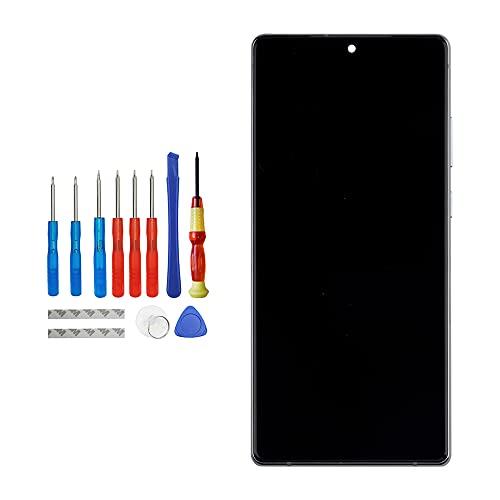 Vvsialeek Pantalla táctil de repuesto Super AMOLED Plus compatible con Samsung Galaxy Note20 SM-N980F SM-N980F/DS LCD con kit de herramientas