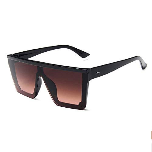 15 Farben Flat Top Sonnenbrille Männer Frauen Marke Designer Square Shades Farbverlauf Sonnenbrille Männer Cool One Piece UV400 Spiegel