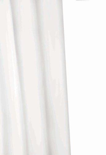 Croydex PVC-Duschvorhang, weiß