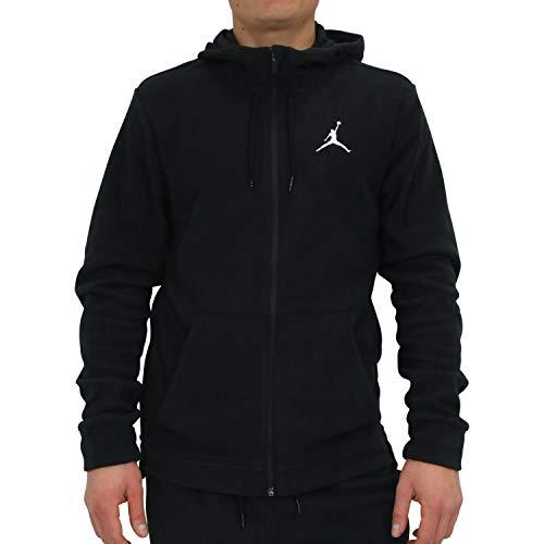 Nike Herren 23 Tech Therma Fz Sweatshirt, Schwarz/Weiß, XL