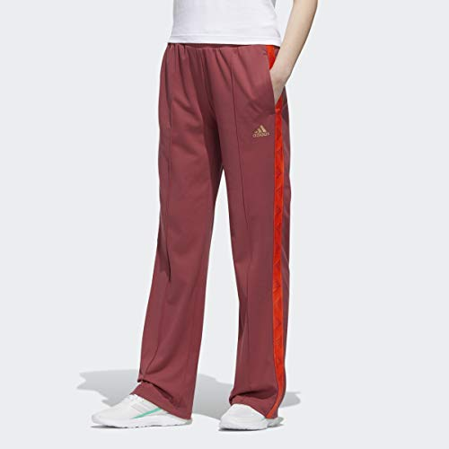adidas x Zoe Saldana Collection Women's Track Pant Women's, Red, Size L