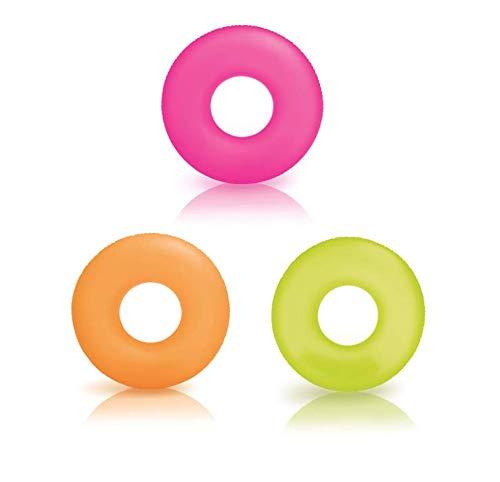 Intex 59262NP–Schwimmring Neon, 91cm, Farben Sortiert