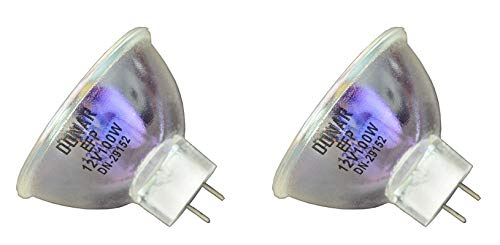 2pcs EFP 12V 100W RM-105 Donar Bulb for Sankyo Dualux 1000 1000H 2000-H - ZEISS Microscope Illuminator Operation 99 Power Arm S1 S2 S3 S21 S4 Universal S3B SP8 - ZEISS IKON Voigtlander 8mm Movie Lamp