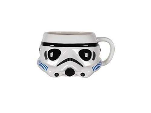 Star Wars – Funko Pop! Home 3D Stormtrooper - Taza de café, en caja de regalo
