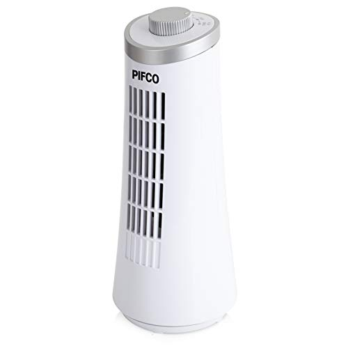 Pifco P5001 Tower Fan, 2 Speed Settings, Automatic Oscillation