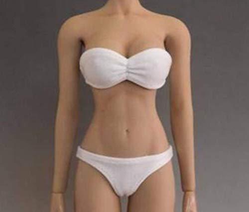 Kleding Model 1/6 Schaal Wit Bikini Kleding Accessoires Vrouwelijke Badpak Set voor 12 Inch Action Figuur Body Accessoires