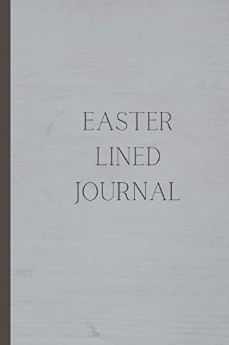 Easter Lined Journal