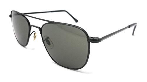 Randolph Damen Sonnenbrille Schwarz Schwarz 51