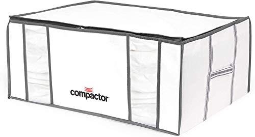 COMPACTOR Vakuum Aufbewahrungstaschen, Größe XXL, 210 l, Weiß
