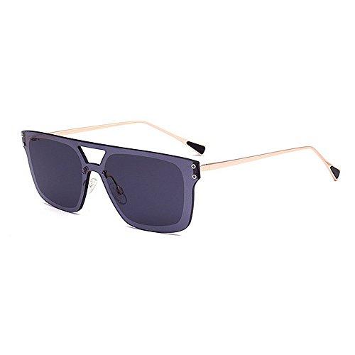 Belleashy Gafas de sol para mujer 100% protección UV clásico polarizado mujeres polígono marco oversize gafas de sol brillante desgaste diario
