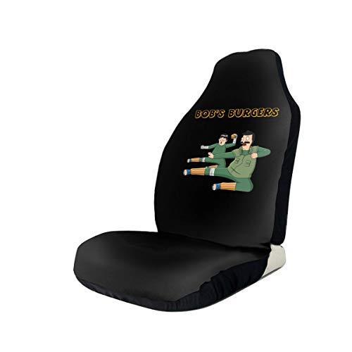 SineRich Bob-Burgers Car Seat Cover, Car Interior Car Seat Cover for Most Cars, Cars, SUVs, Vans 2 PCS