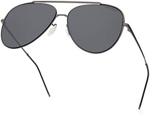Gaoye Fashion Aviator Sunglasses for Women Men Classic Lightweight Metal Frame UV400 Protection product image
