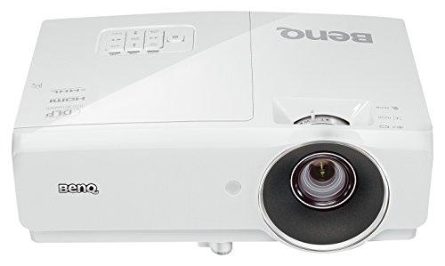 """BenQ 1080p DLP Business Projector (MH741), 4000 Lumens, Full HD 1920x1080, Wireless, 3D, HDMI, 10W Speaker, 2D Keystone, 100""""@8.2ft, 1.3x Zoom,White"""