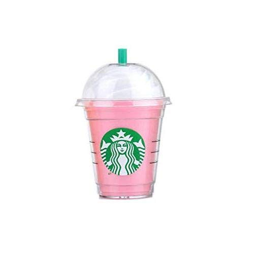 Starbucks Power Bank 5200mah Portable Charger for All Samsung, Android and Apple iPhone X/8/8 Plus/7/7 Plus/6/6 Plus/5s, Apple iPhone 11, X External Backup Battery (Pink)