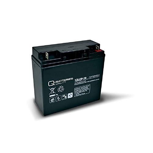 Akku 19Ah 12V AGM Blei Batterie Rasenmäher Rasentraktor Aufsitzmäher Boot Scooter 17Ah 18Ah 20Ah 22Ah 23Ah QB