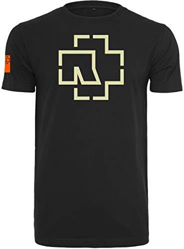 Rammstein Logo tee T-Shirt, Black, XL Mens