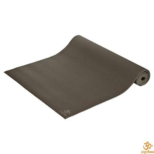 Yogamatte Premium 183 x 80 x 0, 45 cm Made in Germany, Stone