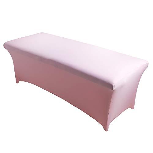 Hundido Cubierta de la Cama de la pestaña Especial extensión elástica Profesional Hojas Estirable Inferior Hoja Cils Tabla for Lash Cama Maquillaje Salon (Color : Barbie Pink)