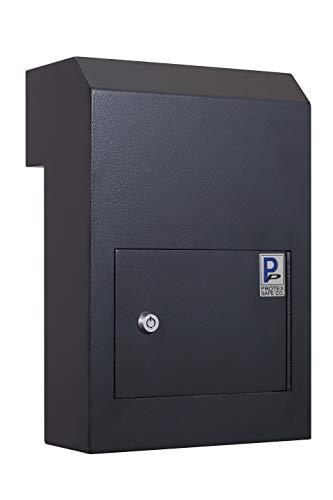 Protex WSS-159 Through The Door Drop Box, Black, Medium (WSS-159 Black)